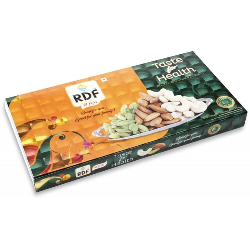RDF Royal Dry Fruits Taste for Health Gift Pack 100gx3 Badam Giri, Cashew, Raisins